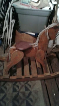 AMISH ALL-WOOD ROCKING HORSE  St. Petersburg, 33714