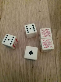 Vintage poker dice New Orleans, 70115