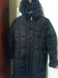 Girl's Rothschild,black quilted coat Fort Worth