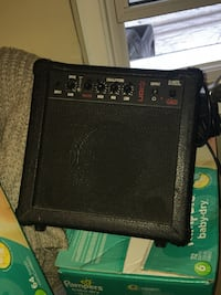 black and gray guitar amplifier Winnipeg, R2W 3J7