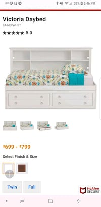 Full Size Victoria style full size bed w Johnstown, 80534