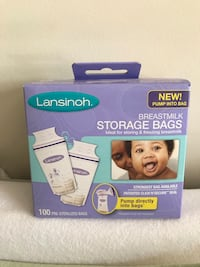 Breastmilk storage bags 100 Centreville, 20121