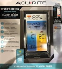 ACU-RITE WEATHER STATION WITH COLOUR DISPLAY Kitchener, N2A 4N1