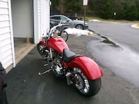 red and black touring motorcycle Manassas