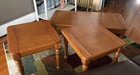 Coffee and end tables Racine