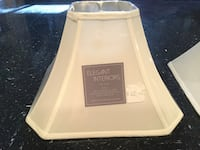 Antique White Square Shaped Lampshades For Sale Stafford, 22554
