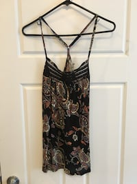 F21 | paisley cotton and lace cami Surrey, V4N 0C7