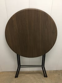 "Mainstays 31"" Round High Top Folding Table"