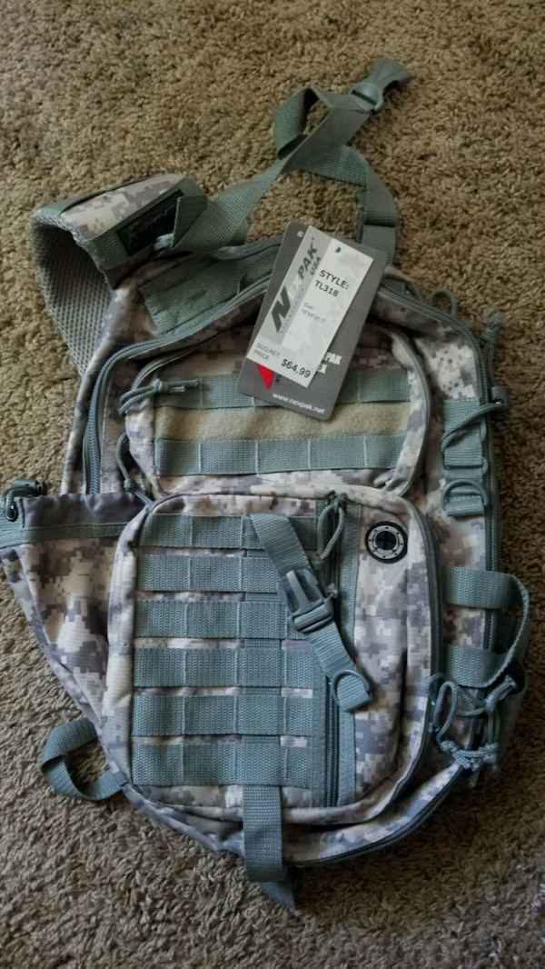 Military Combat Hiking Backpack
