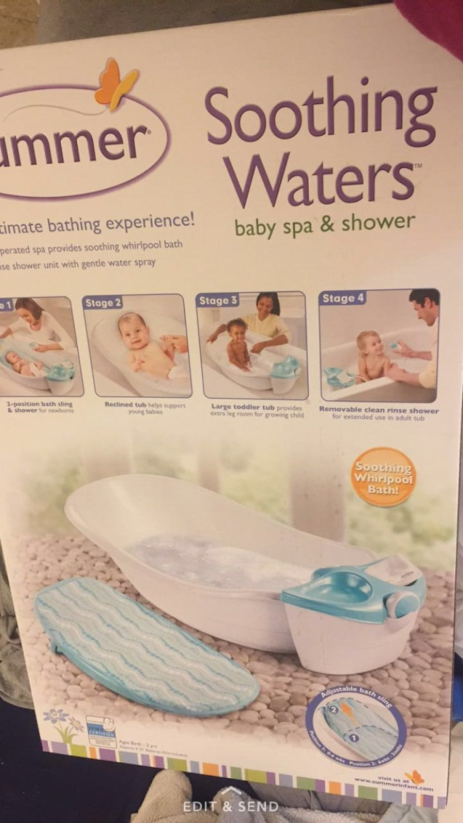 Summer Soothing Waters Baby Spa And Shower In Fall River Letgo