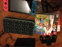 Nintendo Switch Combo with 4 Games and Case Vaughan