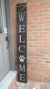 6 foot welcome sign