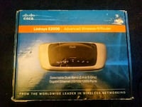 NEW Cisco-Linksys E2000 Advanced Wireless-N Router