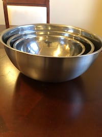 Stainless steel bowl set New York, 11368