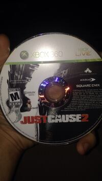 Just Cause 2 Xbox 360 game disc Sudbury, P3A 2G5