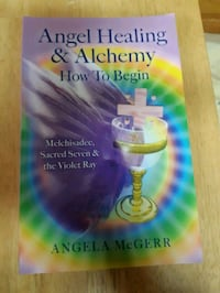 Angel healing & alchemy book excellent condition