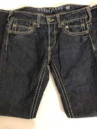 "MEN's GUESS DARK DENIM - ""PASADENA"" Jean Straight Leg - SIZE 32 Toronto"