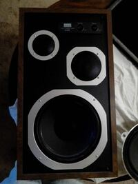 Sansui 3way speaker system London, N5Y