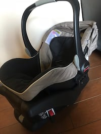 Baby's black and gray car seat carrier 51 km