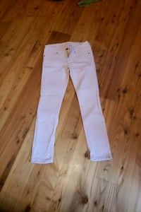 Baby pink dollhouse jeans
