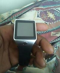 silver-colored and black smartwatch East Riverdale, 20737