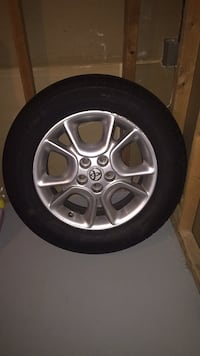 27 inch (tire and rim) from Toyota Sienna Columbia, 21044