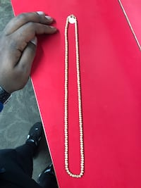 Jewelry, Other 10k 19.0 Gold Bead Chain ..  Baltimore, 21217