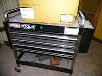 black and gray toolbox Von Ormy, 78073