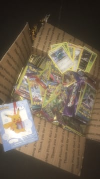 Box of unopened Pokémon cards  St. Augustine, 32084
