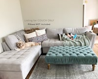 Calvin Heights Platinum 2 pc Sectional Couch Wilmington, 28411