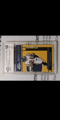 2001 Playoff Contenders LaDainian Tomlinson ROOKIE