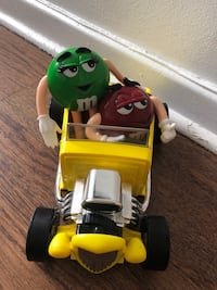 M&m's toy car collection.