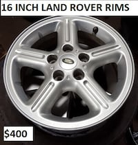 USED 16 INCH LAND ROVER ALLOYS Toronto