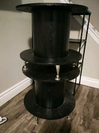 Two end tables. Black. Legs are nice hardware Hamilton, L9C 6B3