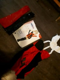 Harley Quinn costume with gloves XS Toronto, M4C 5G2