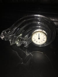 Glass Clock.