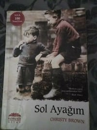 Sol Ayagim by Christy Brown kitabı Göynük Mahallesi, 07985