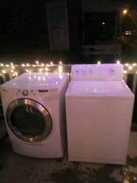 Washer and front load dryer 249 mi
