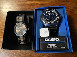 2 new watches Timex and Casio