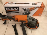 RIDGID 15 Amp Corded 7 in. Twist Handle Angle Grinder Stevenson Ranch, 91381