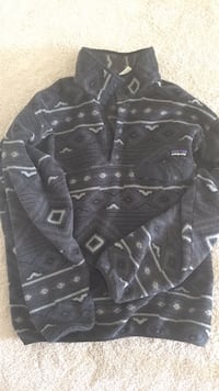 black and gray button-up jacket Greer, 29650