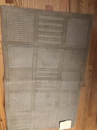 Taupe color wool area rug  Plainfield, 60544