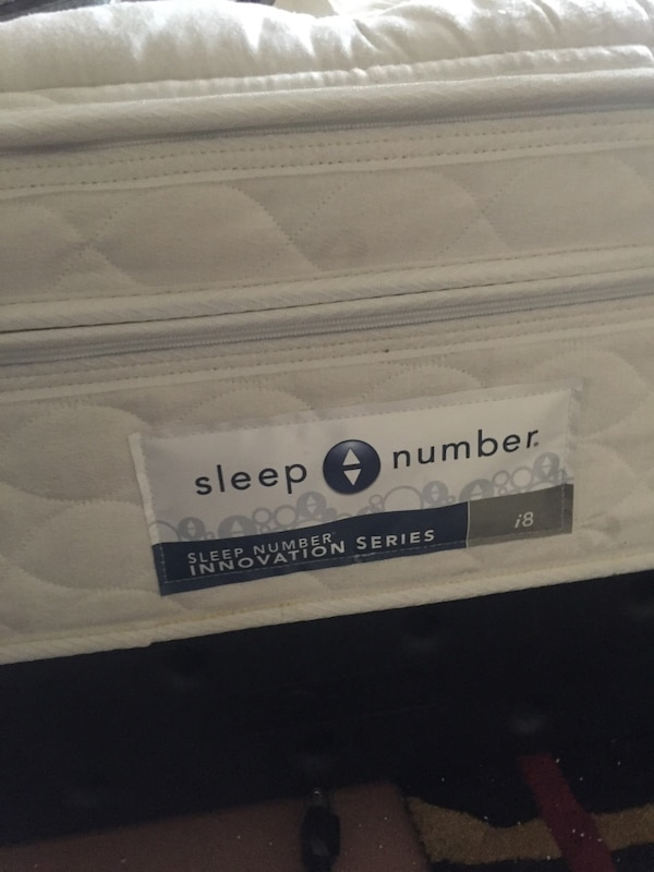 Used Good Condition Sleep Number Bed I8 Sleep Number For Sale In