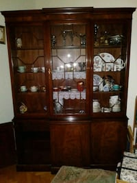Baker Furniture China Cabinet Easton