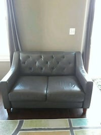 gray leather padded sofa chair Silver Spring, 20905