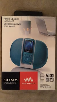 Sony Walkman MP3 with Speaker Dock Mississauga, L5A