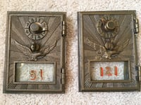 Antique Vintage Post Office Mail Doors Springfield, 22152