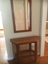 Oak cabinet and mirror  Mount Airy, 21771