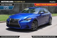 Lexus IS 350 2016 Mount Juliet