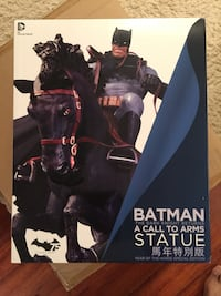 DC Collectibles Batman Dark Knight Returns Call to Arms Year of Horse Statue Rockville, 20850